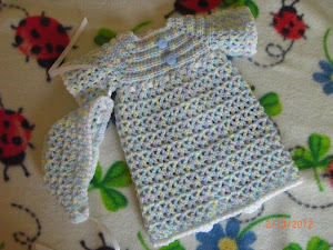 V-Stitch Preemie Gown