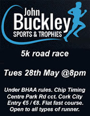 Flat & Fast 5k road race in Cork City...