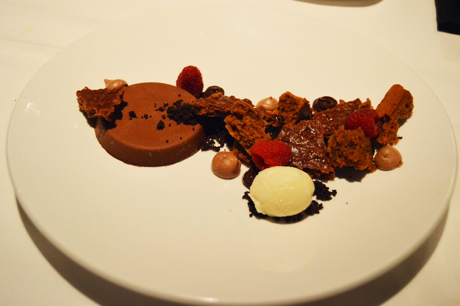 Chocolate Dessert at PM Prime