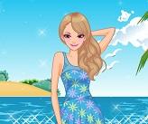 لعبة شاطئ الموضة