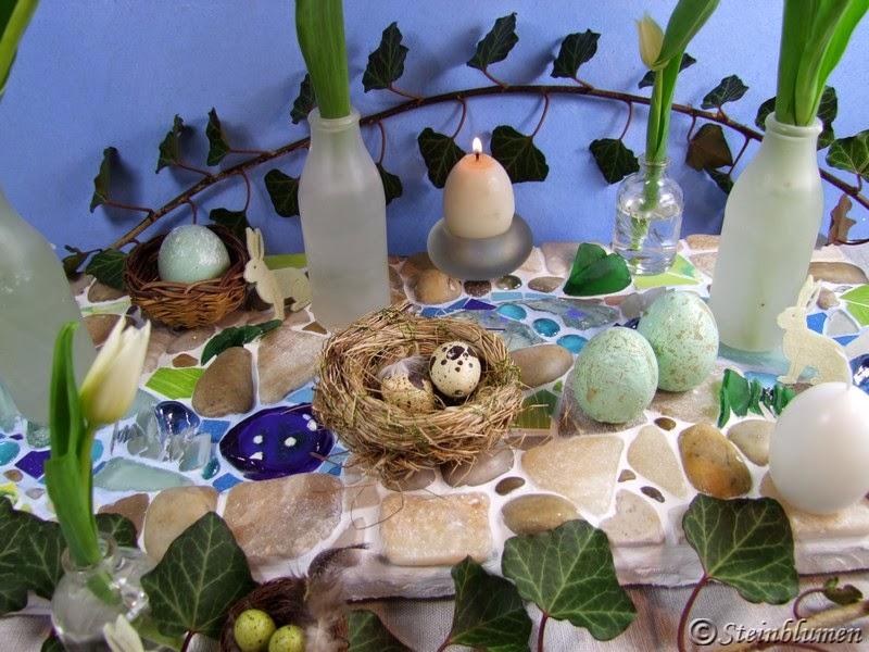 Tischdeko Osterfest