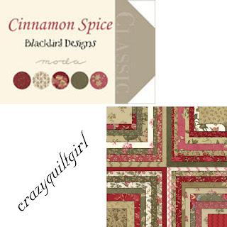 Moda CINNAMON SPICE Quilt Fabric by Blackbird Designs
