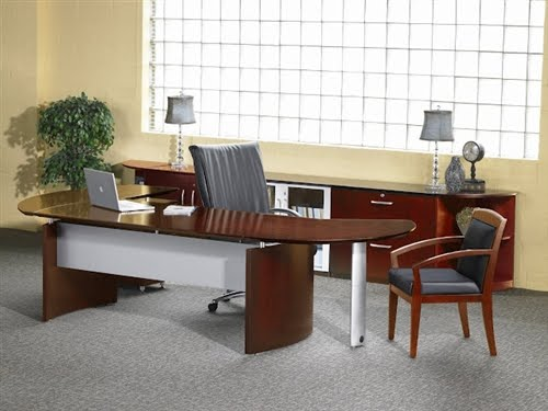 Custom Napoli Executive Office Furniture Configurations By Mayline