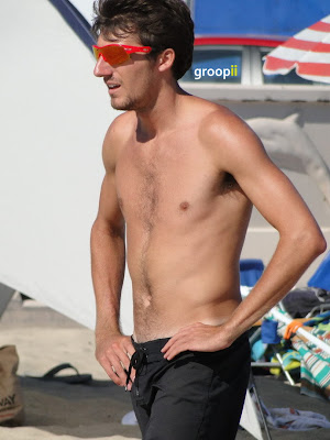 Jeff Carlson Shirtless at the NVL Malibu 2011