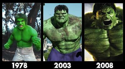 Hulk dari tahun ke tahun
