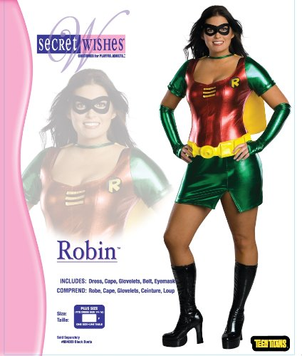 Batman Secret Wishes Robin Dress Costume  sc 1 st  Omni Ezine : secret wishes robin costume  - Germanpascual.Com