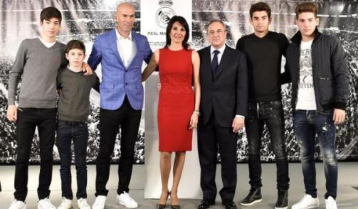 Profil Keluarga Zinedine Zidane Pelatih real Madrid