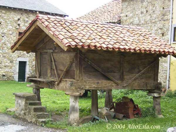 casa rural horreo cantabria