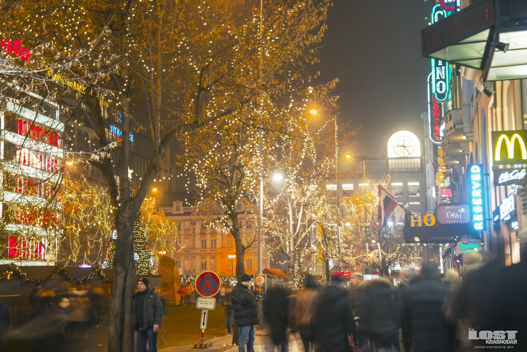 Christmas Eve Wenceslas Square