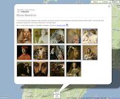 El Museo del Prado en Google Earth.