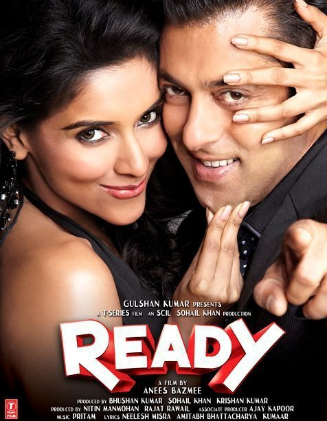 ready movie theatrical poster download