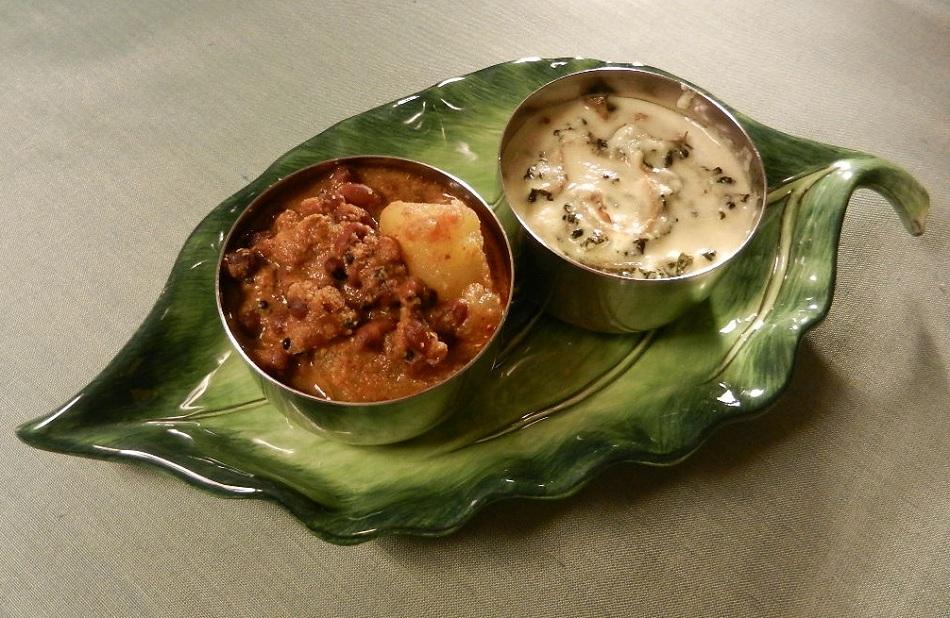 Sizzling indian recipes vishu sadya delicious for Cuisine kerala
