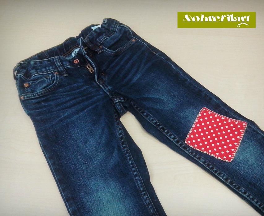 Bajo pantalones - Decorar pantalones vaqueros ...
