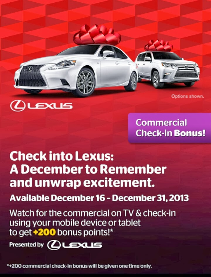 Lexus: A December To Remember, Viggle Bonus, Viggle Mom