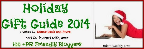 Holiday Gift Guide 2014 – 100+ Bloggers! #HolidayGiftGuide100Bloggers