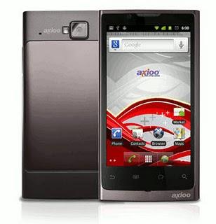 Axioo Vigo 410 Ponsel Android Gingerbread 4.1 inchi dari Axioo Harga