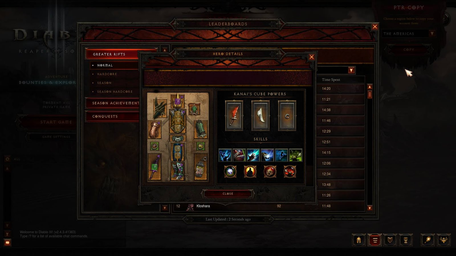 Diablo New Wd Build