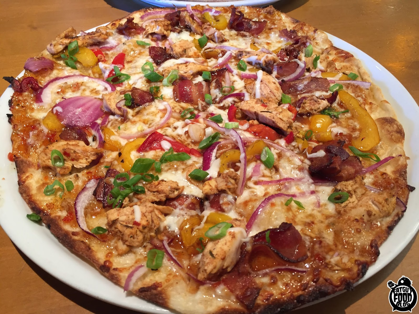 fatguyfoodblog california pizza kitchen new flavors the works