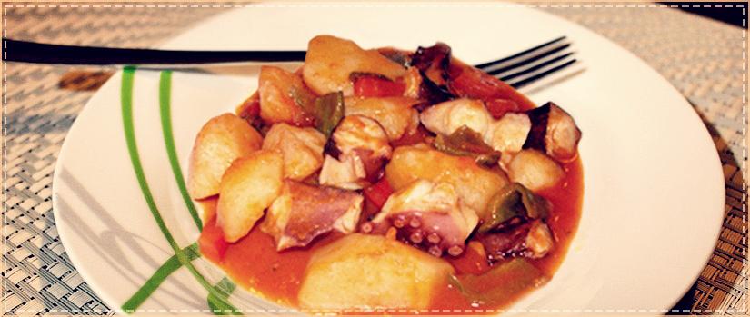 El blog de para comer bien antonio y ricardo receta de for Pulpo en olla rapida