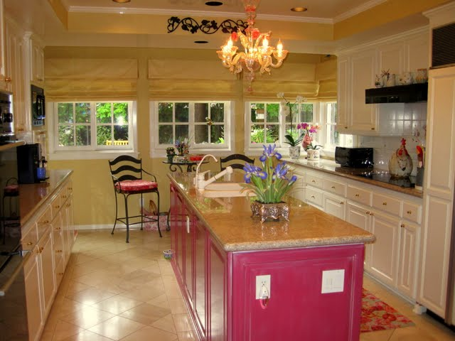 this kitchen was designed with the south of france in mind bright