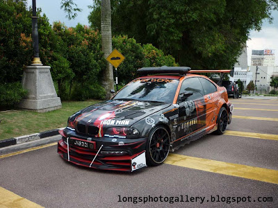 Extreme modified bmw m3