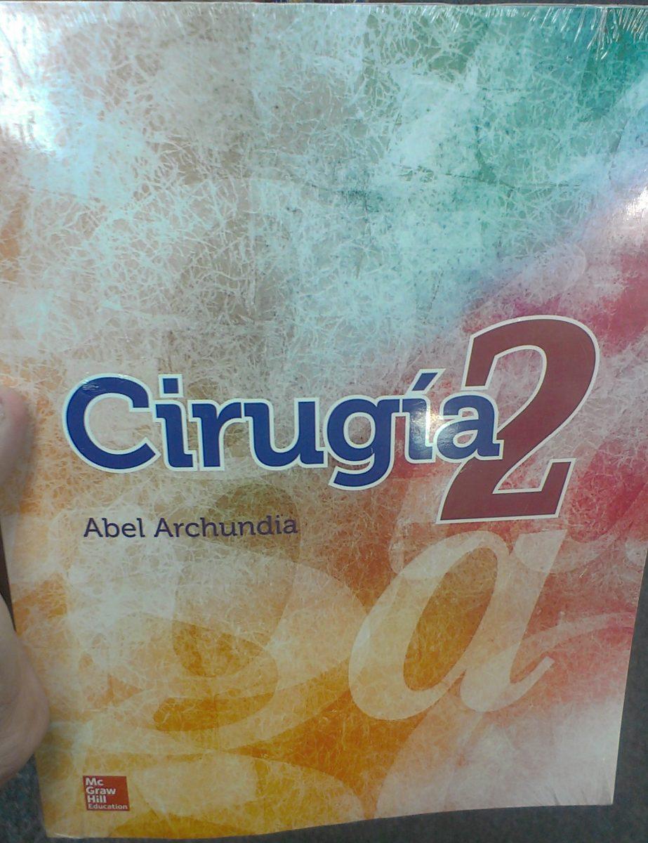Cirugia 2 de abel archundia 1 edicion
