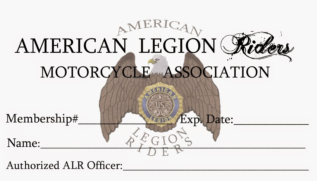 Custom American Legion Business Card Design