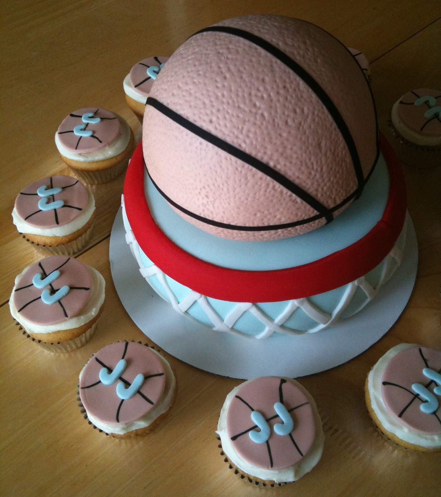 I Design Basketball Cake Tutorial