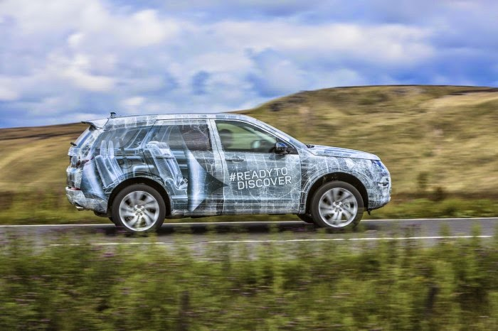 2015 Land Rover Discovery Sport First Video/Pictures