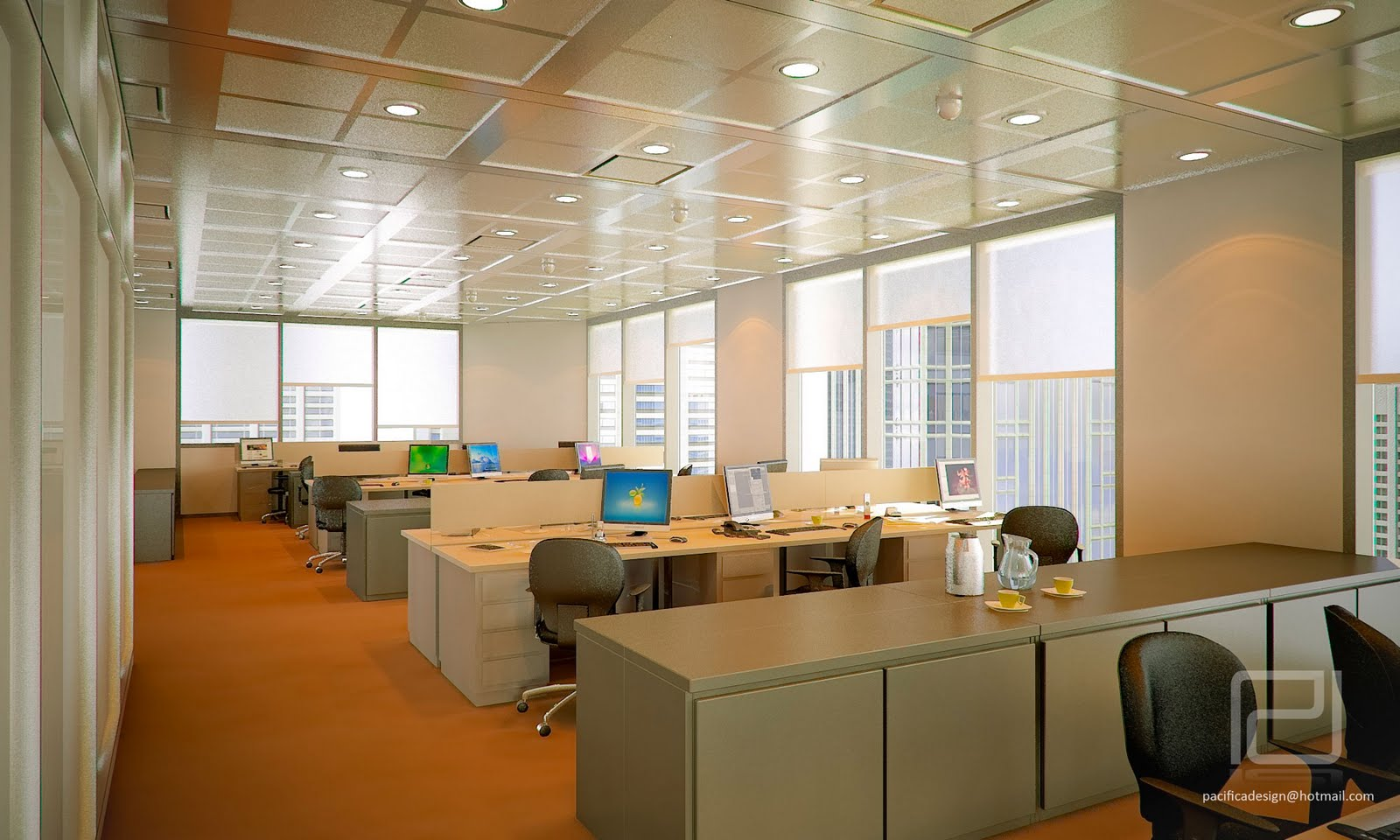 Oficinas corporativas pacifica design for Diseno de oficinas corporativas