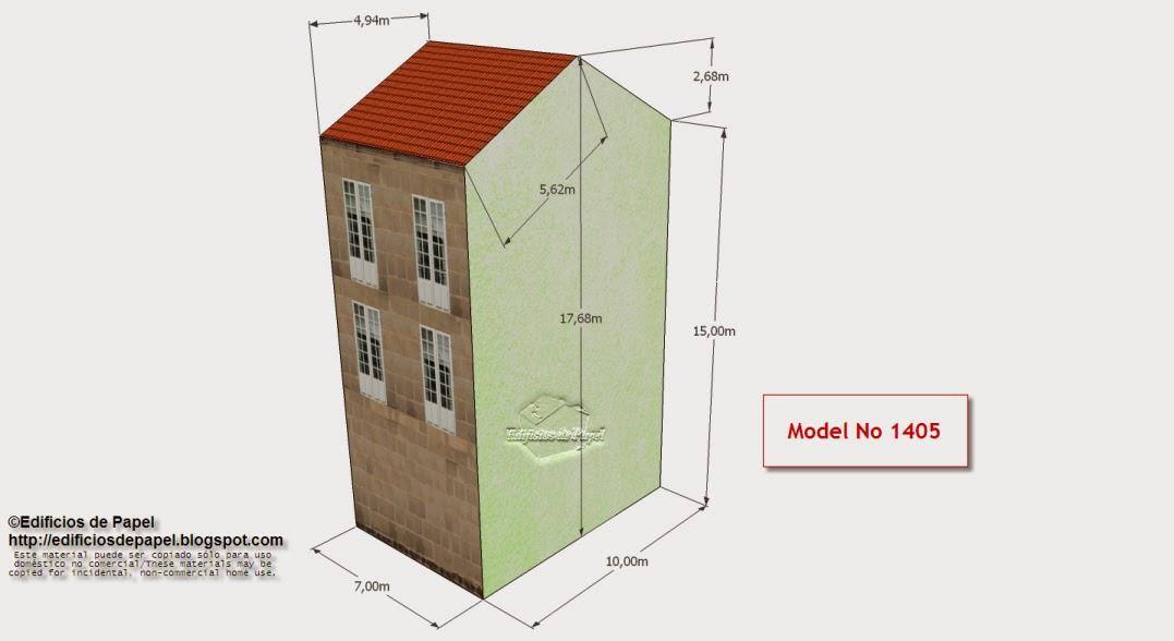 Edifcios de Papel - Edificio Granito 1