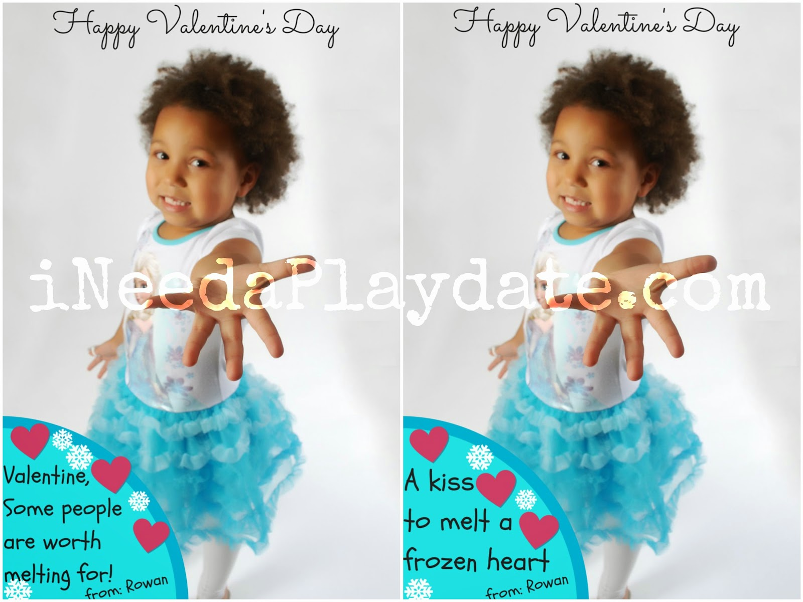#Frozen Inspired Personalized Valentine Ideas #disneyside