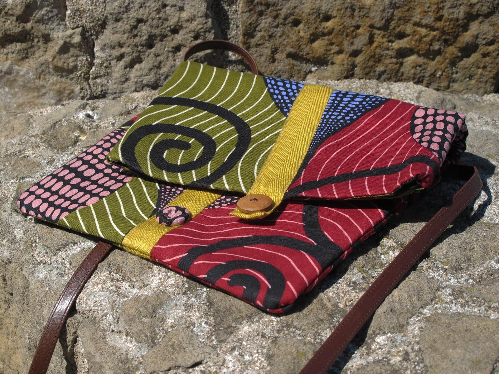 La tricoteca los bolsos de telas africanas nuevos de este - Telas africanas barcelona ...