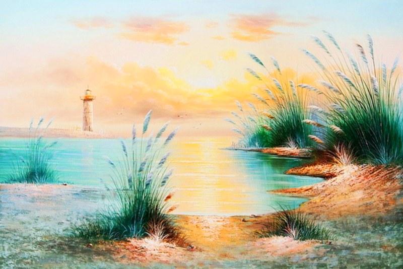 Im genes arte pinturas paisajes sencillos pintura oleo - Los cuadros mas bonitos ...