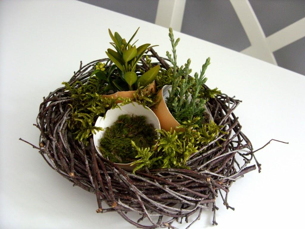 Dom Na Ciepło Stroik Wielkanocny Diy