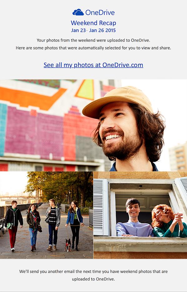OneDrive Weekend Recap