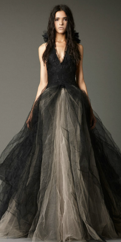 Vera Wang Black Wedding Dresses - Wedding Dresses Asian