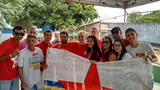 Picuienses participam do 3º Congresso da Juventude PTista em Brasília DF