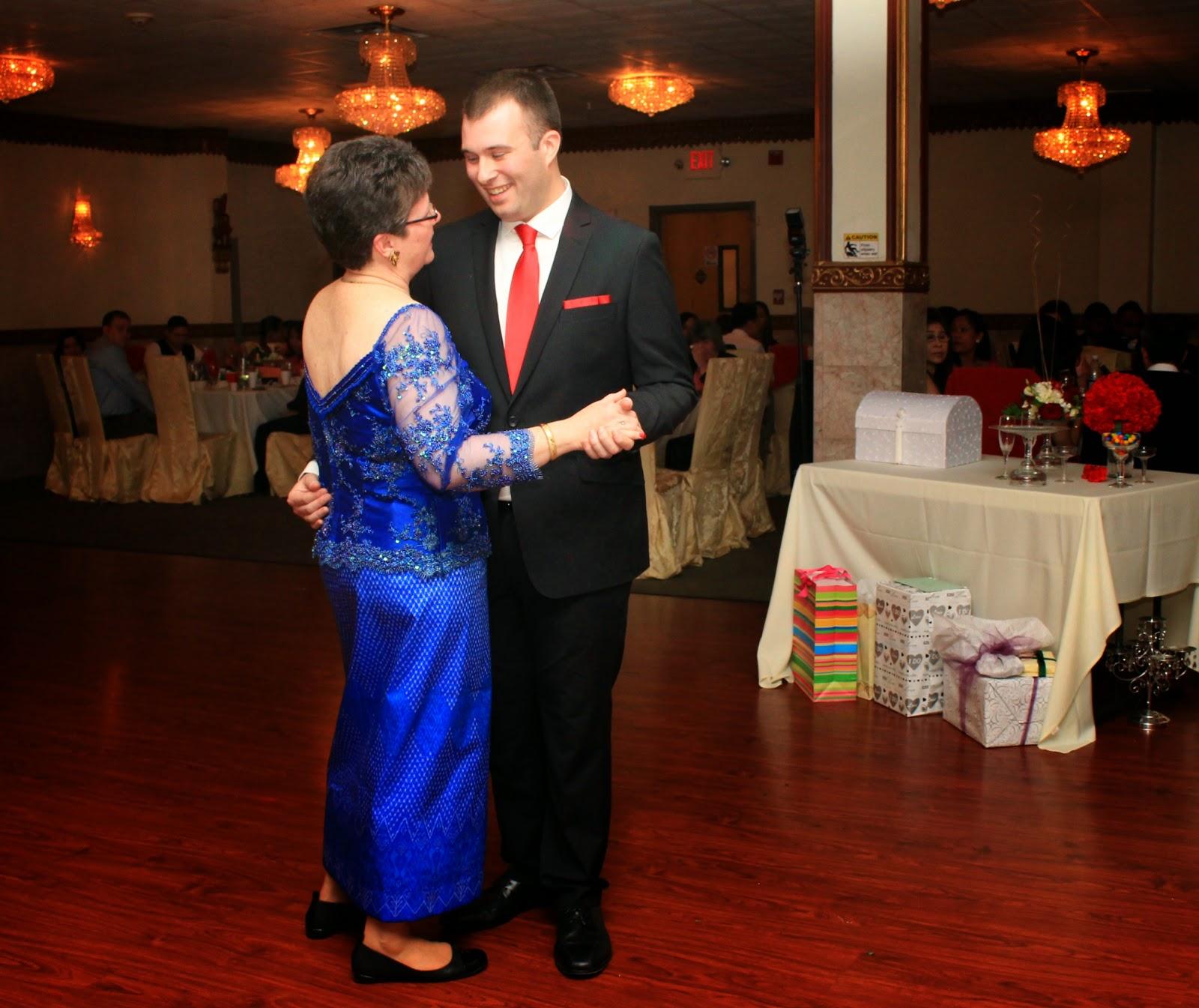 Mother Son Wedding Dance: Mami-Eggroll: Cambodian Wedding Reception At Pailin