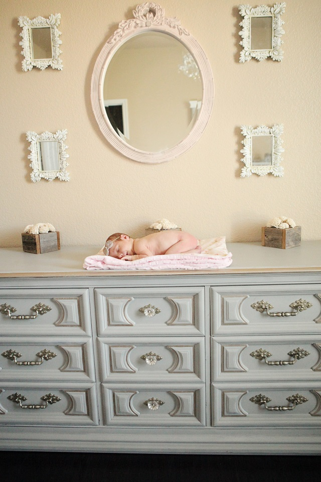 fawn over baby journey 39 s shabby chic nursery by erica mae photography. Black Bedroom Furniture Sets. Home Design Ideas