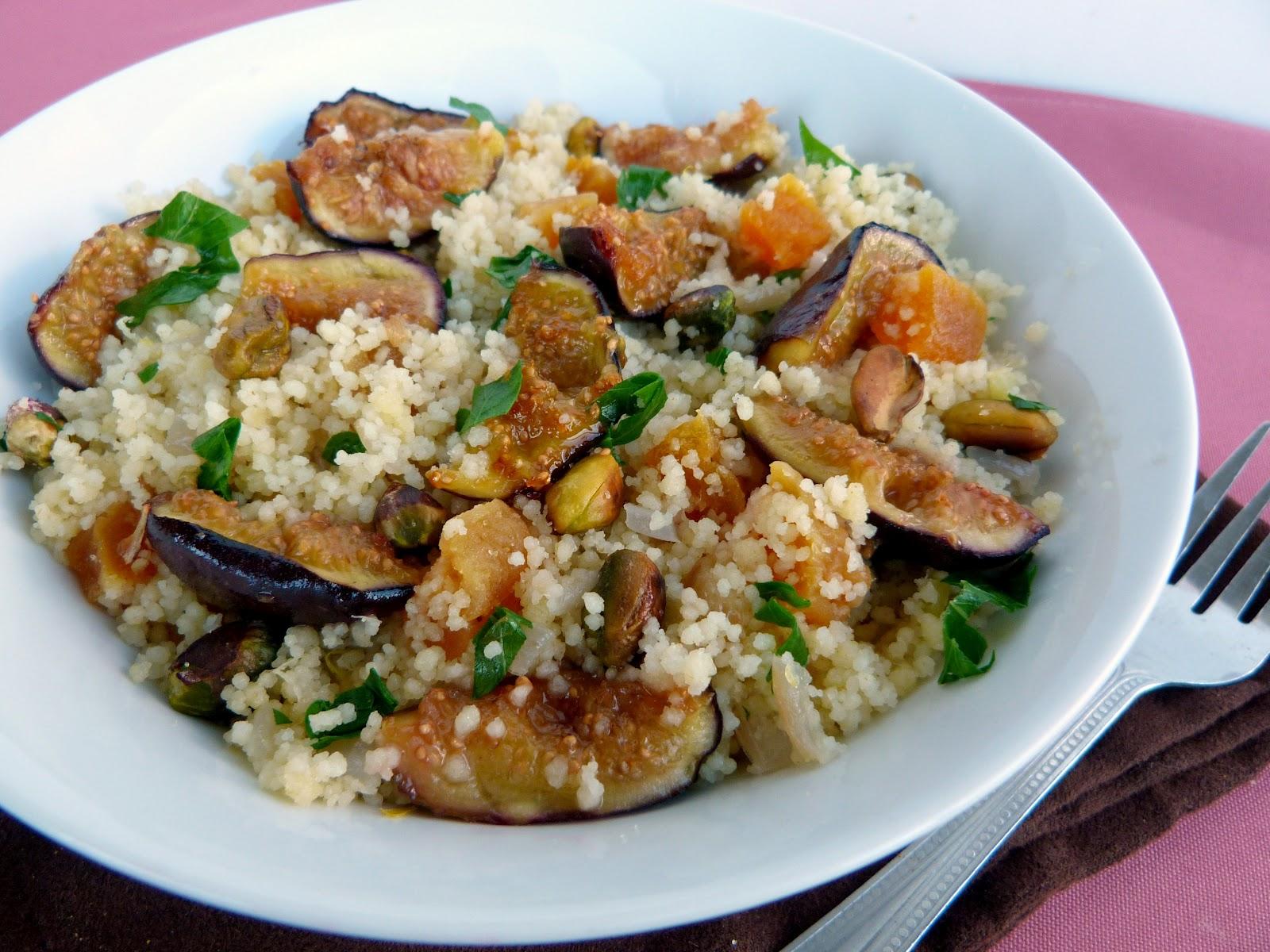 Vanilla & Spice: Couscous with Figs, Apricots & Pistachios