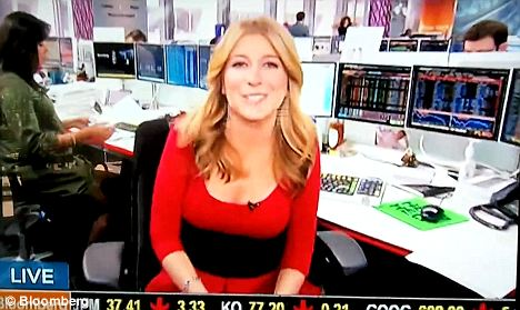 Bloomberg Reporter Sara Eisen Caught