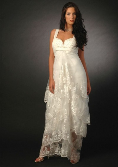 Wedding blog maternity wedding dresses new categories for Pregnancy dress for wedding