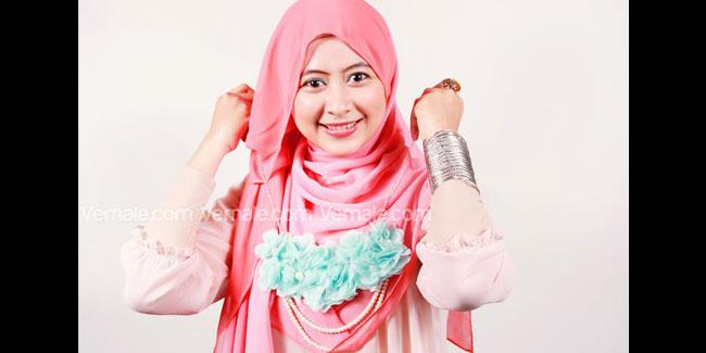 Hijab - Kerudung - Pashmina: Tutorial Cara Memakai Jilbab