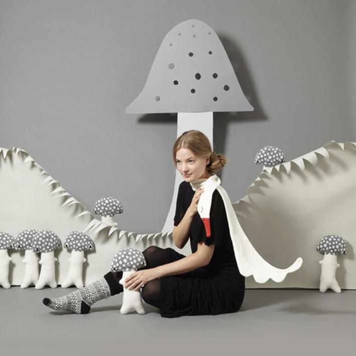 mushroom cushions by donna wilson