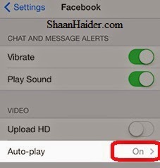 HOW TO : Stop the Auto-Play Facebook Videos on iPhone and iPad