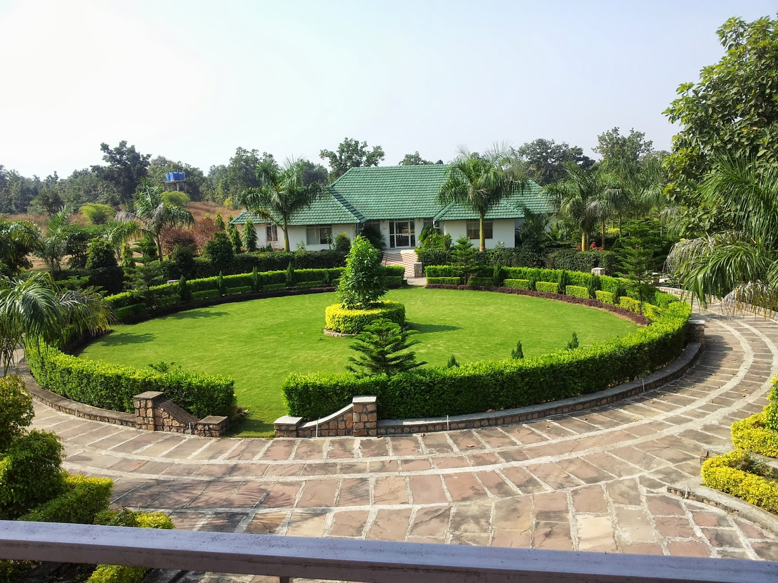 best luxury jungle resorts in pench national park vvillage