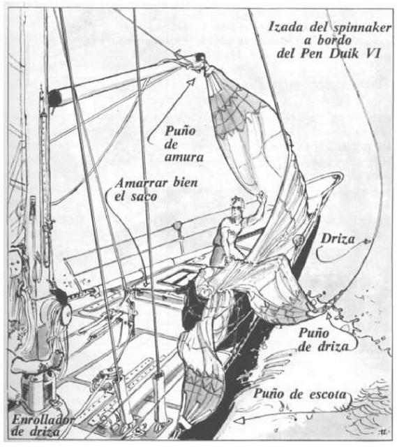 Cómo maniobrar barcos con botalón y asimétrico y con el spinnaker ...