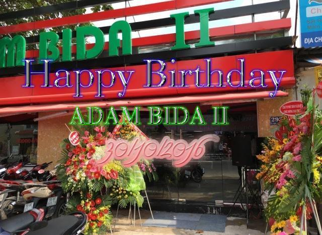 Happy birthday Adam bida II