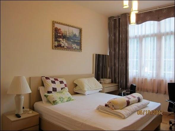 Phòng ngủ căn hộ The Vista đẹp